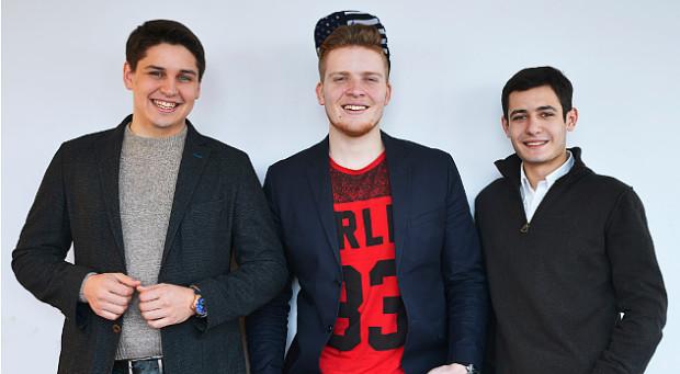Ross Knap, Andrey Tkacziw i Sergey Butko, współtwórcy CallPage