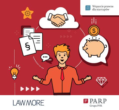 Darmowe wsparcie prawne dla startupów – PARP we współpracy m.in. z LAWMORE