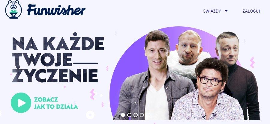 LAWMORE wspiera Funwisher.com – narzędzie do komunikacji gwiazd z fanami