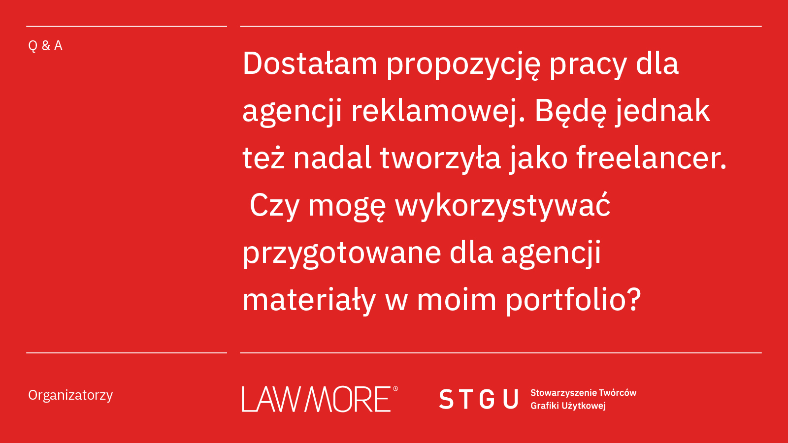 Nowy cykl – Lawmore we współpracy z STGU