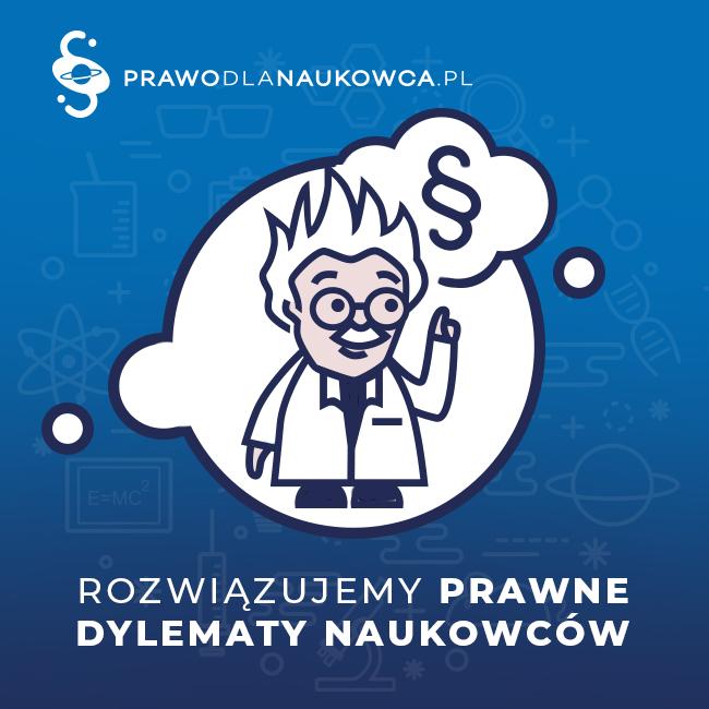 Prawo dla naukowca – nasz nowy blog
